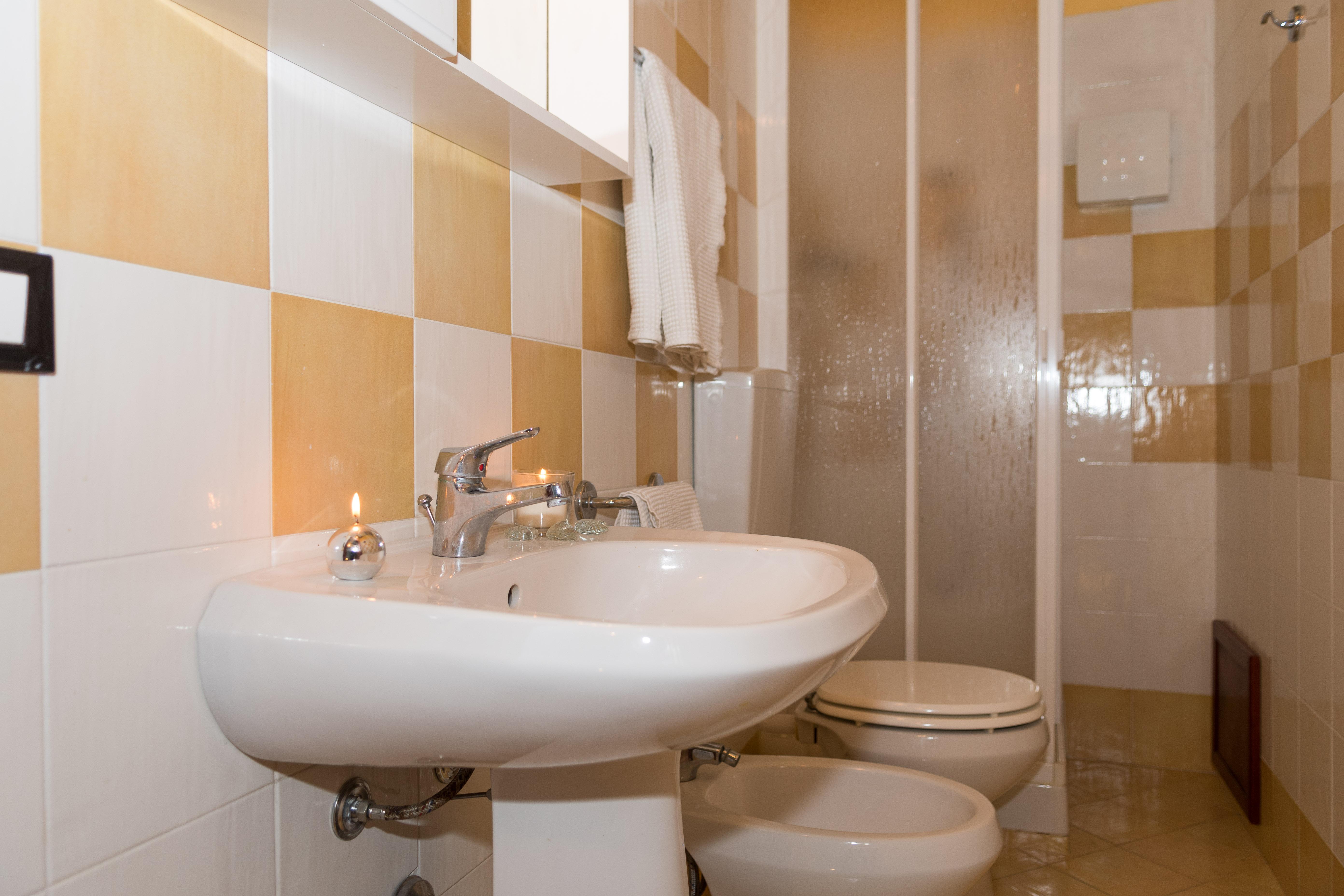 Il bagno colorato del trivani