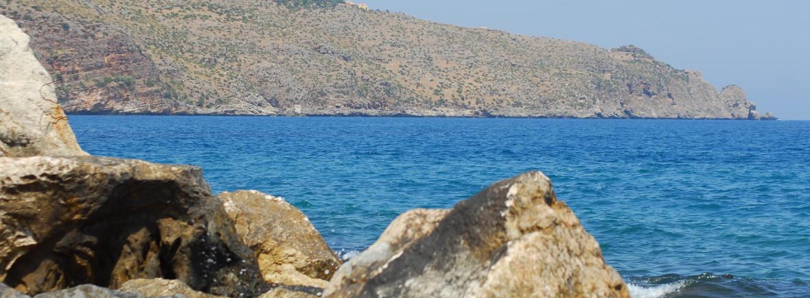 castellammare del golfo il mare azzurro di scopello