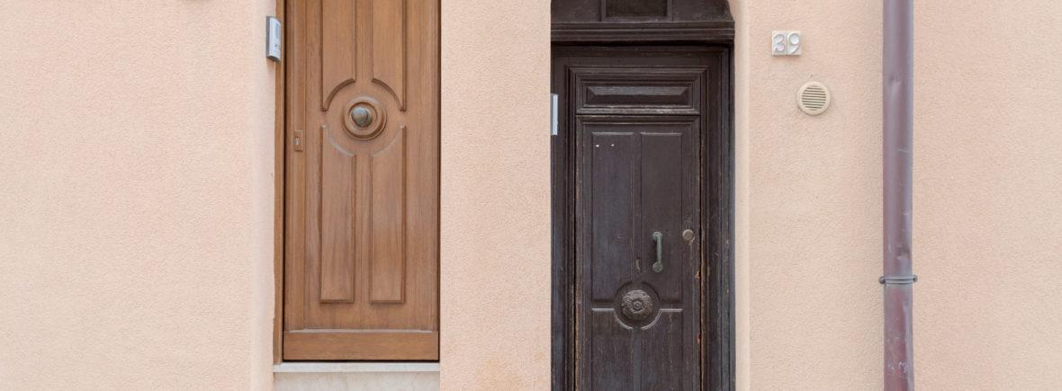 due porte di ingresso a Castellammare del Golfo