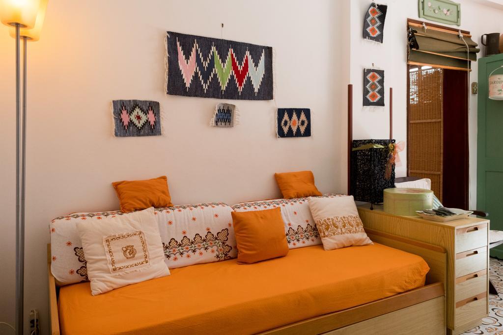 castellammare del golfo il divano letto del soggiorno interno